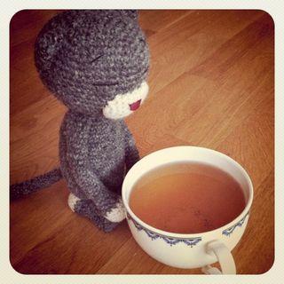 Edith and tea